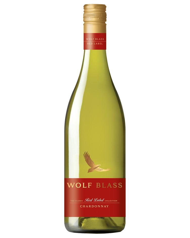 Wolf Blass Red Label Chardonnay 2020 (6x 750mL).