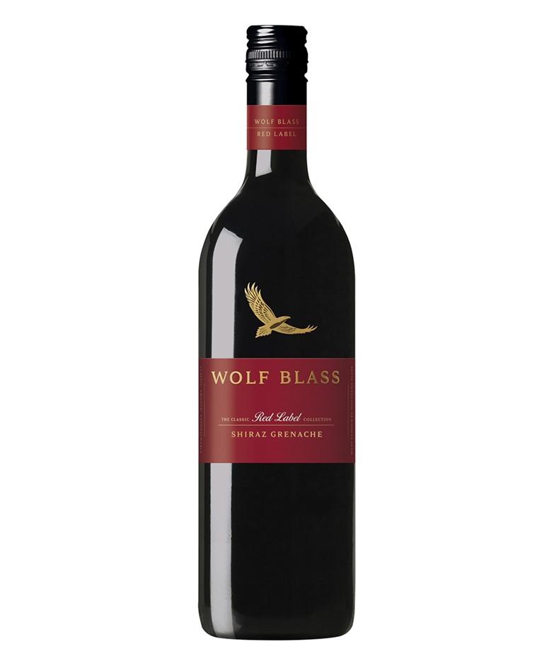 Wolf Blass Red Label Shiraz Grenache 2019 (6x 750mL).
