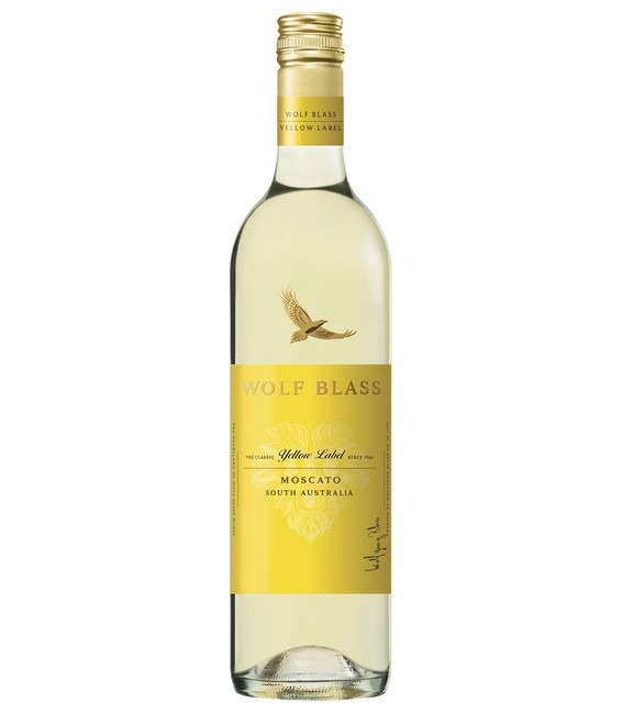 Wolf Blass Yellow Label Moscato 2020 (6x 750mL).