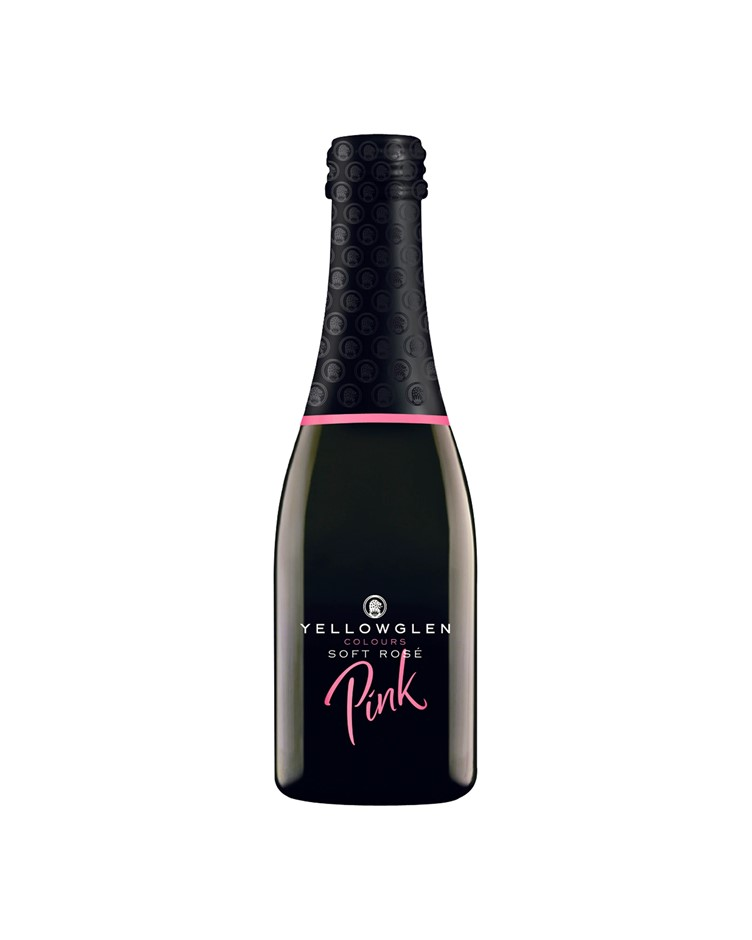 Yellowglen Pink Sparkling NV Piccolos (24x 200mL).