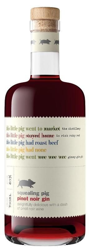 Squealing Pig Pinot Noir Gin NV (6x 750mL).