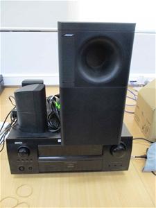Denon AV Receiver & Bose Speaker System