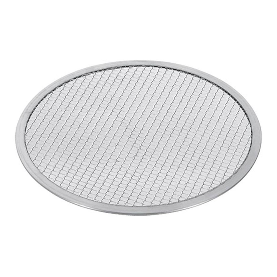 SOGA 12-inch Seamless Aluminium Nonstick Commercial Grade Pizza Screen Pan