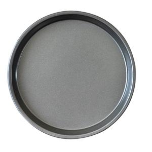 SOGA 8-inch Round Black Steel Non-stick