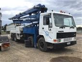 1988 Volvo FL10 6 x 4 Concrete Pump Truck with Placing Boom