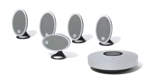 Jamo A210PDD Home Theatre Speaker Package (Silver)