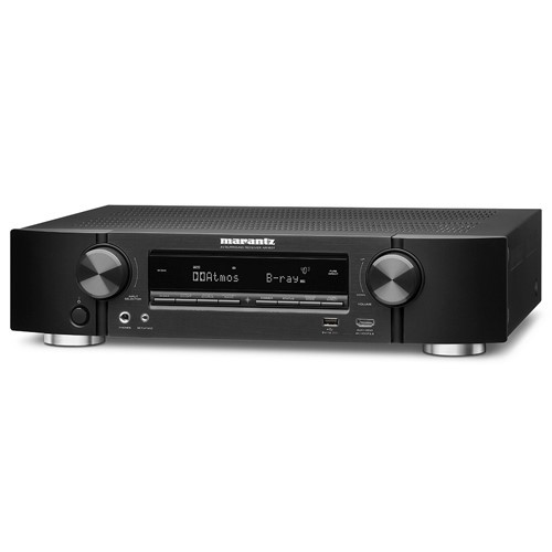 Marantz NR1607 Ultra-slim 7.2 ch Network AV Receiver BT & Wi-Fi (Black)