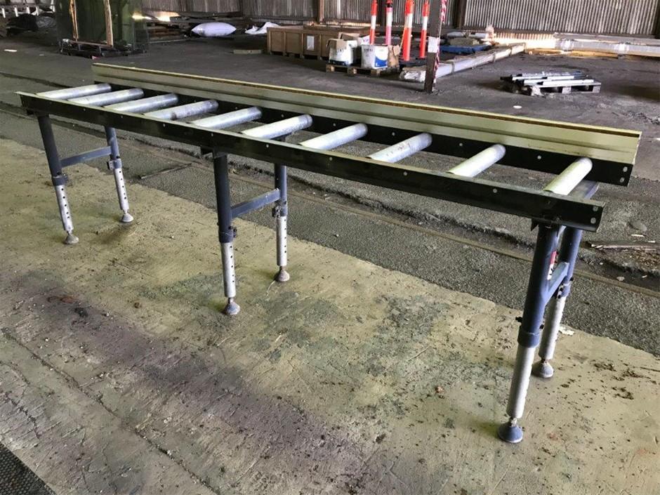 1 x Hafco Roller Conveyor
