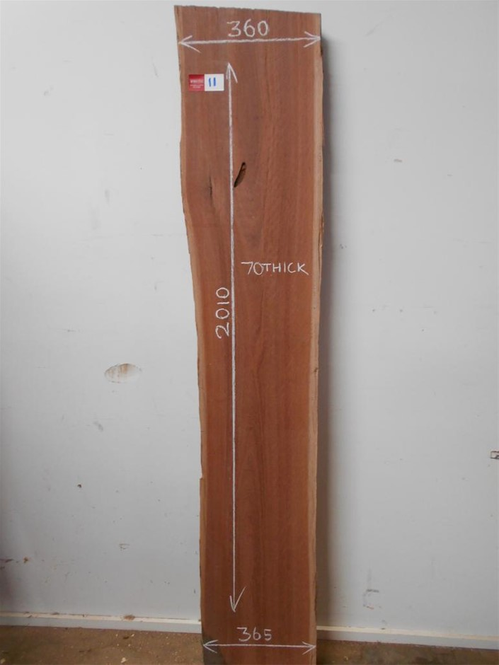 Timber Slab - Grey Gum