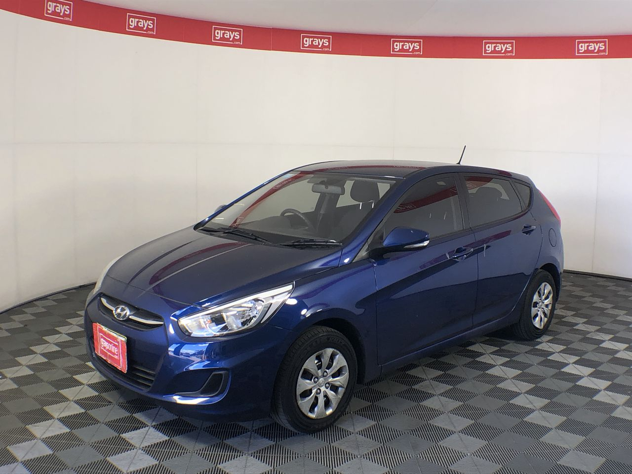 2015 Hyundai Accent Active RB Manual Hatchback 29,338 kms