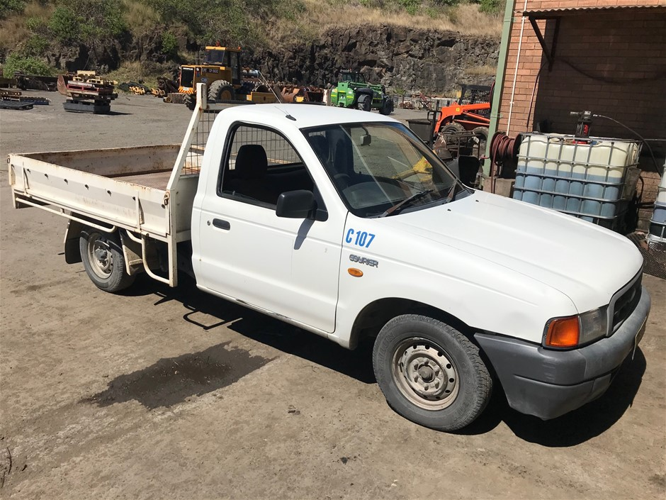 2000 Ford PE Courier 4x2 Ute