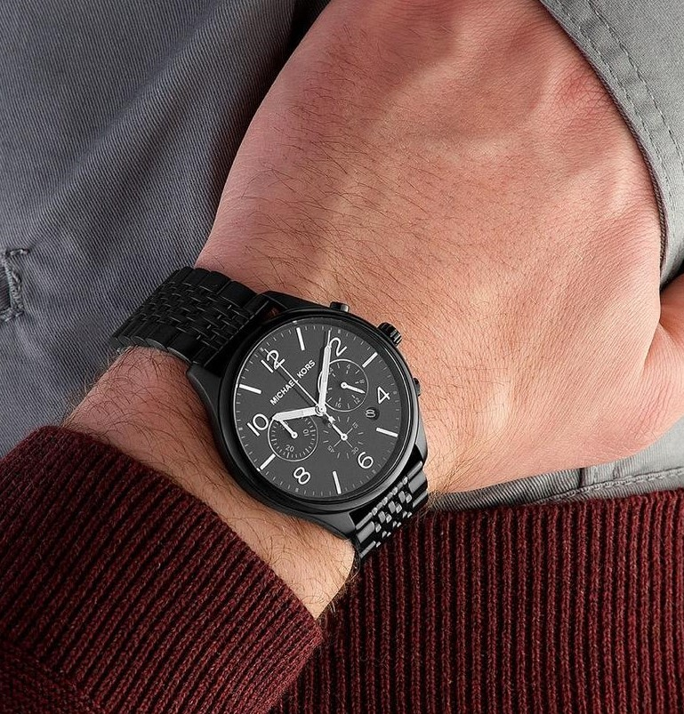 Mens new Michael Kors Couture NY 'statement' watch.