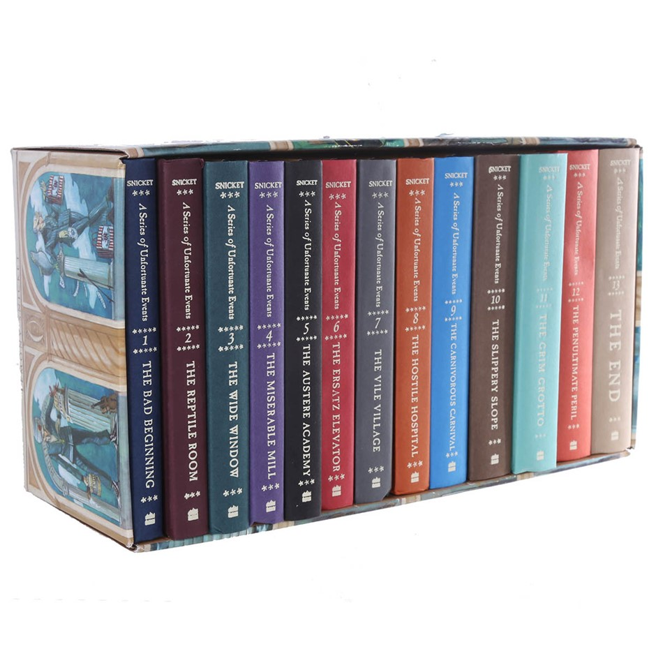 Set of 13 A Series of Unfortunate Events. Buyers Note - Discount Freight Ra