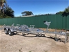 2021 Heavy Duty Galvanised Dual Axle Boat Trailer