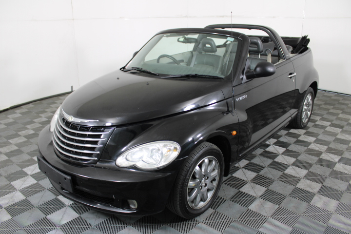 2007 Chrysler PT Cruiser Limited Automatic Convertible, 134,144km