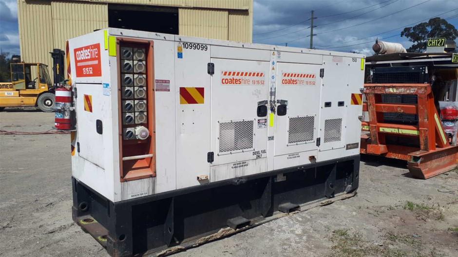 Generator - 150kVA (Diesel) - 2011 FG Wilson XD150P2