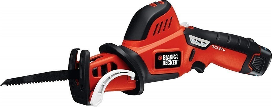BLACK & DECKER 10.8V Cordless Pruning Saw 1.3Ah Battery 150mm Blade. Buyers