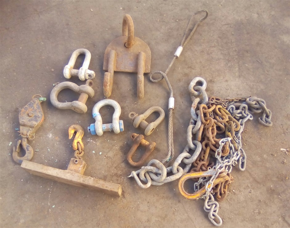 Bundle of Rigging and Lifting Items