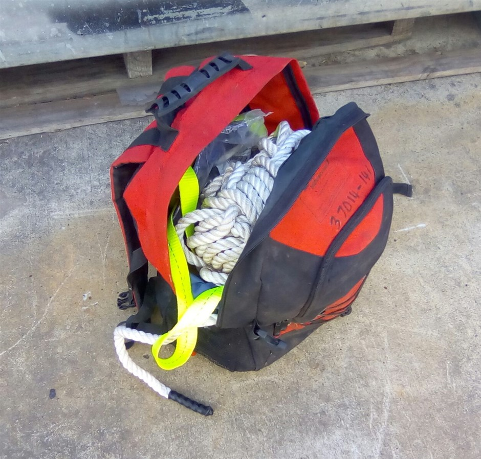Static Line Kit in Carry Bag
