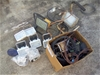 Lot of Assorted Floodlights, Electrical Cables and Accessories