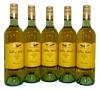 Wolf Blass Yellow Label Moscato 2012 (5x 750mL), SA