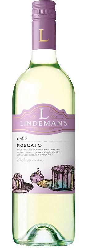 Lindeman's Bin 90 Moscato 2019 (6x 750mL).