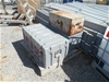 <p>3x Assorted Tool Boxes - including <li>1x Poly: approx 1100x530x420 <l