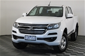 2017 Holden Colorado 4X2 LX RG T/D Automatic Dual Cab