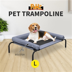 PaWz Heavy Duty Pet Bed Bolster Trampoli