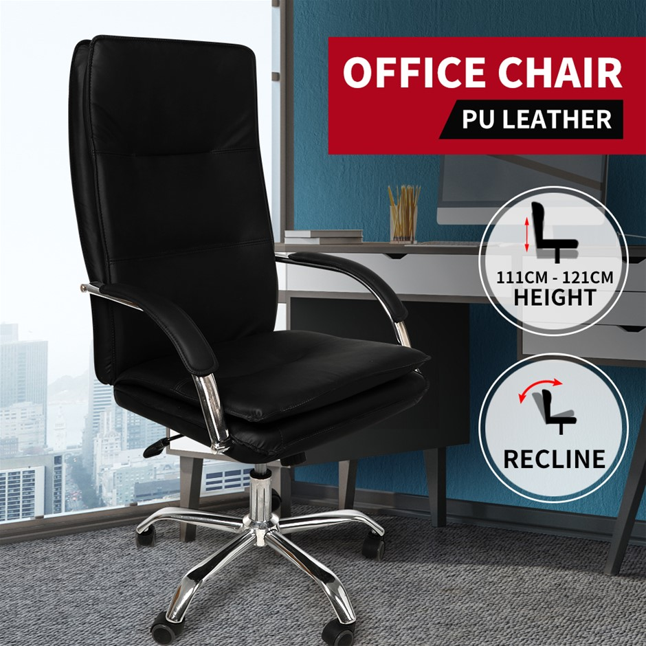 Gaming Chair Office Chairs Racing Executive PU Leather Seat Computer Racer