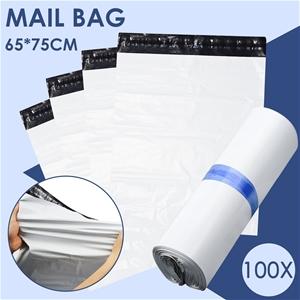 100x Poly Post Mailer Plastic Satchel Se