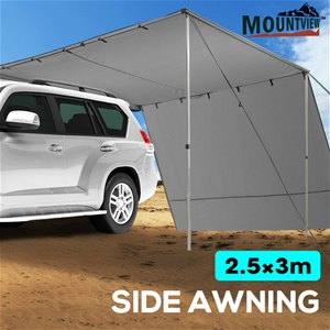 Mountview 2.5x3M Car Side Awning Extensi