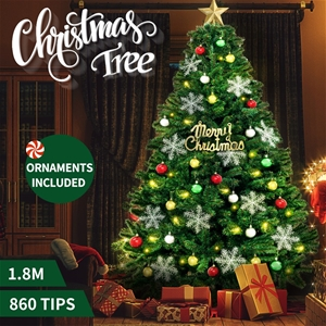 Christmas Tree Kit Decorations Colorful