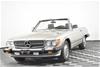 1987 Mercedes Benz 560SL Automatic Convertible