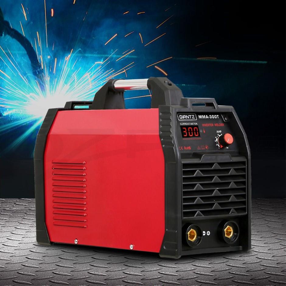 Giantz 300Amp Inverter Welder MMA ARC iGBT DC Gas Welding Machine Stick