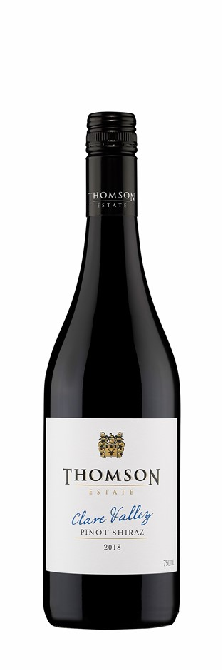 Thomson Estate Clare Valley Pinot Shiraz 2018 (12 x 750mL) SA