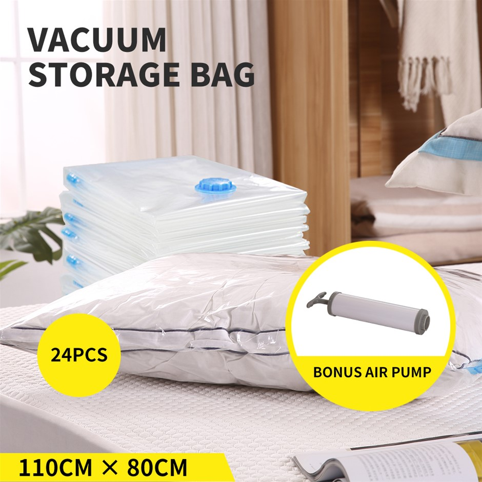 Vacuum Bags Save Space Seal Compressing Clothes Quilt Organizer Saver
