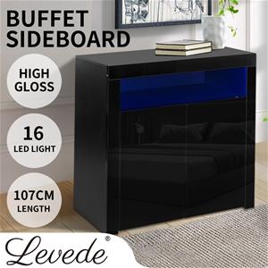 Levede Buffet Sideboard Storage Cabinet