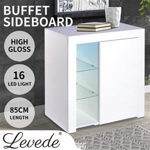 Levede Buffet Sideboard Modern High Glos