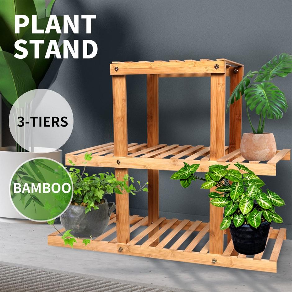 3 Tier Plant Stand Outdoor Indoor Flower Pots Rack Garden Shelf