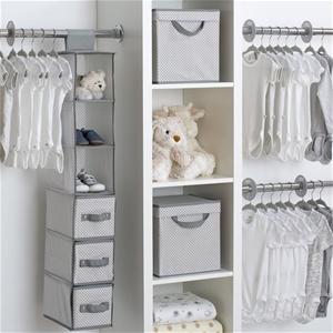 Delta Children 48 Piece Nursery Storage