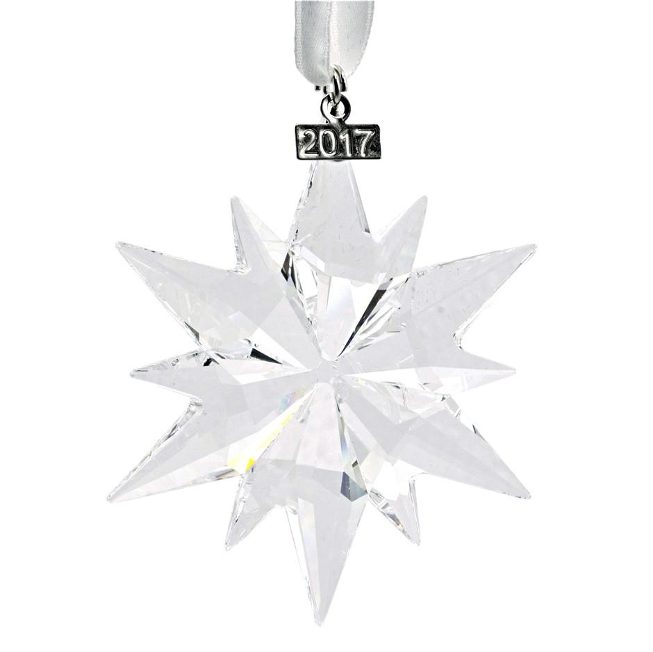 Swarovski Annual Christmas Edition Ornament 2017-Crystal Snowflake.