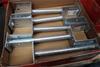 Box of 10 Pryda Full Stirrup Post Anchor 90mm Post 300mm