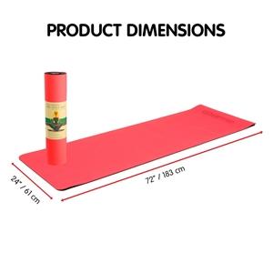 TPE Yoga Mat 183*61*0.8cm Red