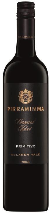 Pirramimma Vineyard Select Primitivo 2018 (6 x 750mL) McLaren Vale, SA