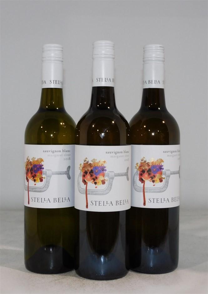 Stella Bella Sauvignon Blanc 2018 (3x 750mL), Margaret River