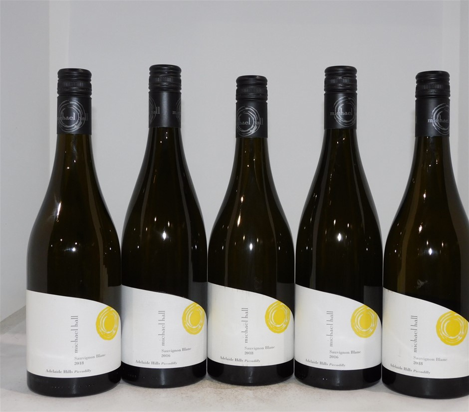Pack of Assorted Michael Hall Sauvignon Blanc (5x 750mL), Adelaide Hills