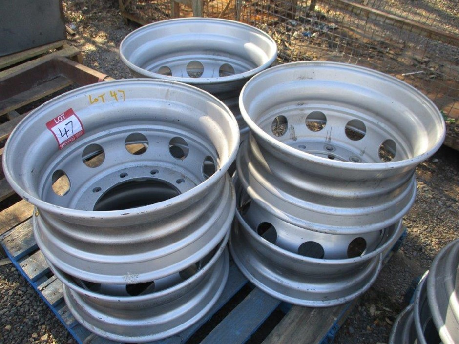 Qty 6 x Alive Truck Wheel Rims