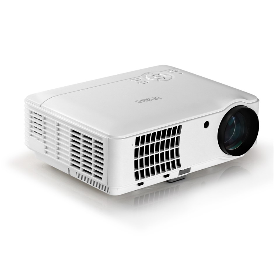 Devanti Mini Video Projector HD 1080P 2500 Lumens Home Theater USB VGA