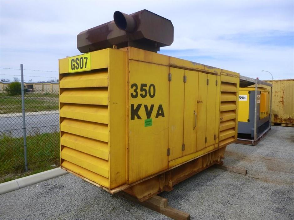 2005 Barclay GEN SET ENCL 350 KVA Silenced Enclosed Generator